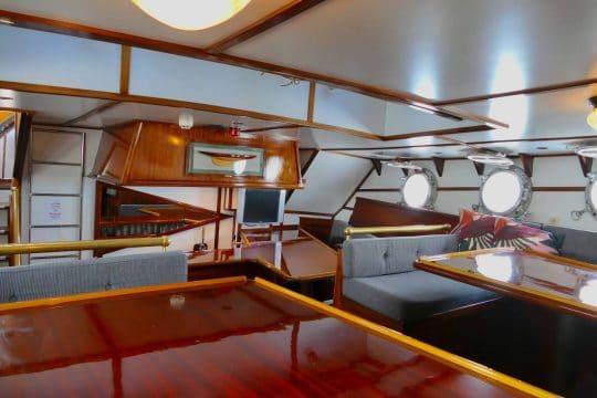 Twister galley lounge bar sailing holidays