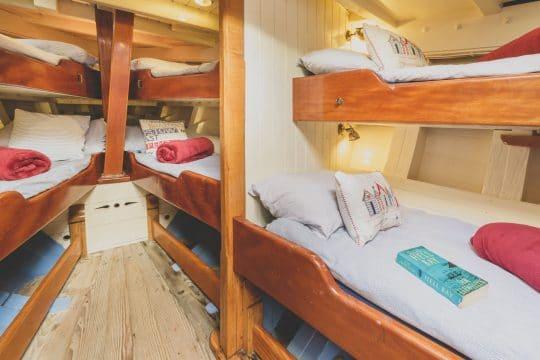 Agnes Sleeping area