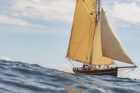 Agnes from the water Sailing