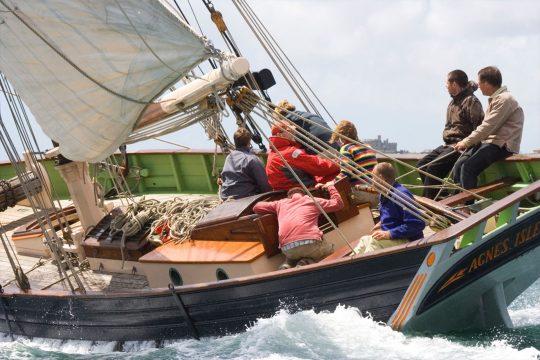 Agnes sailing