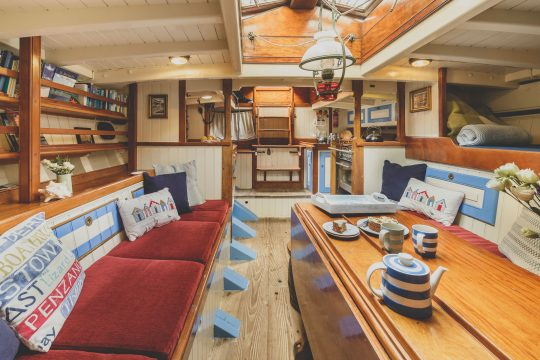 Agnes saloon galley