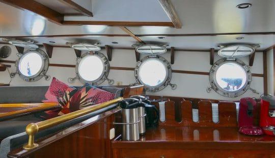 Below deck accomodation Twister