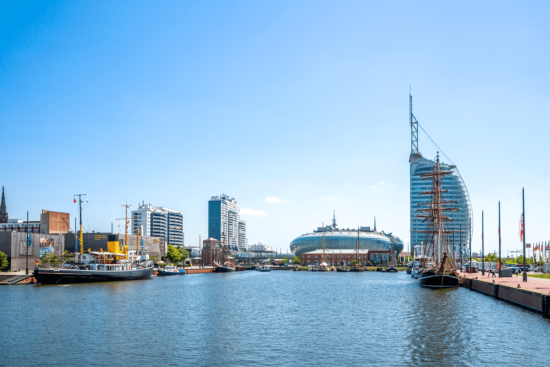 Bremerhaven Germany Eye of the Wind