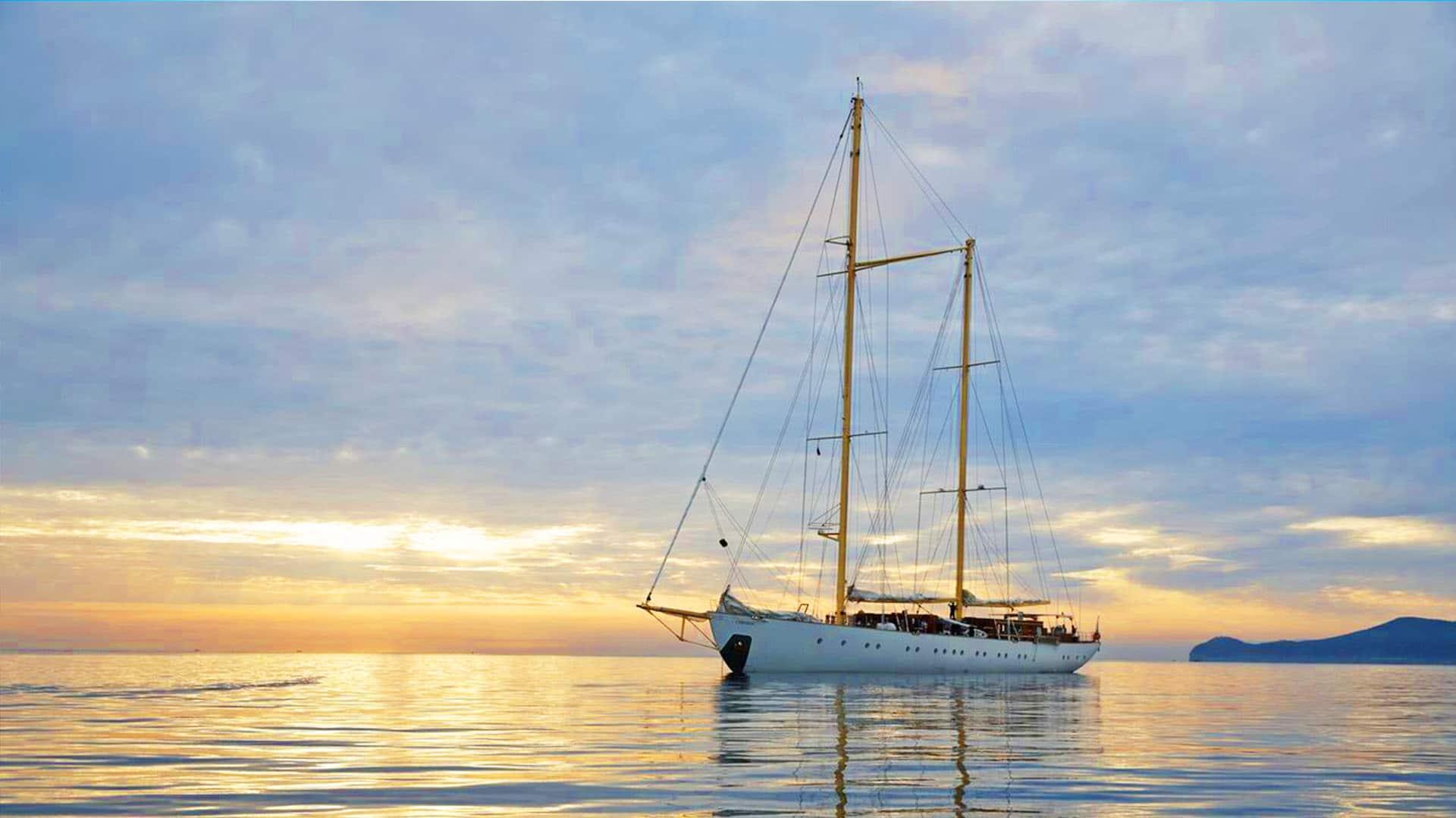 CHRONOS anchor sunset