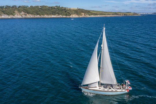 Cherokee yacht sailing