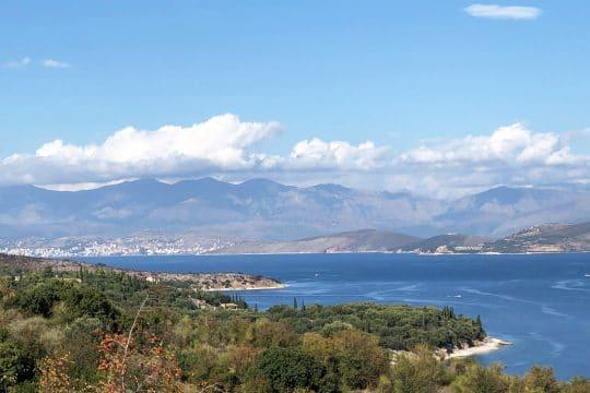 Corfu Greece Ionian view