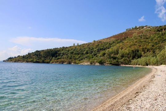Corfu Greece beach
