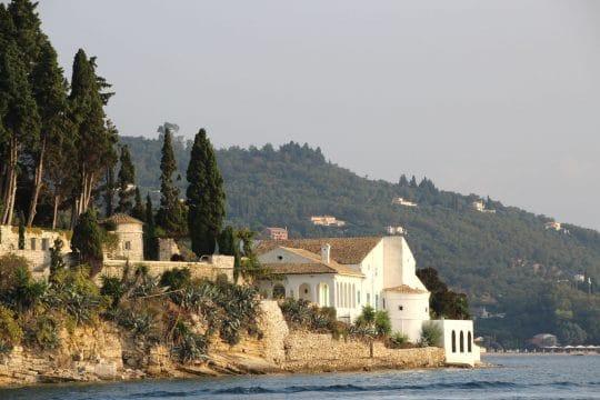 Corfu Greece coastal villa