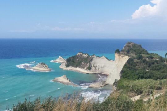 Corfu cliffs