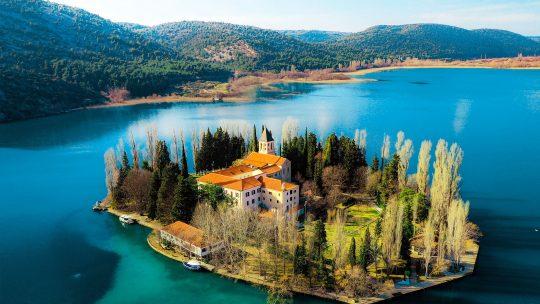 Croatia Visovac Island Skradin
