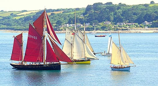 Sailing Holidays in Devon and Cornwall Pilgrim of Brixham