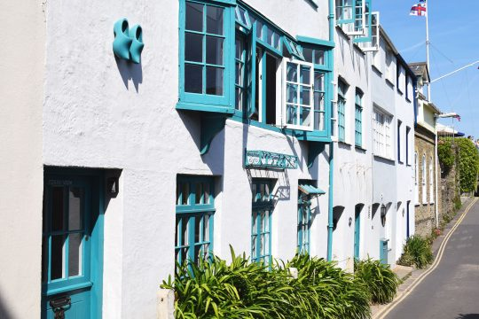 Devon Salcombe houses