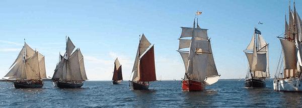 Douarnenez festival fleet