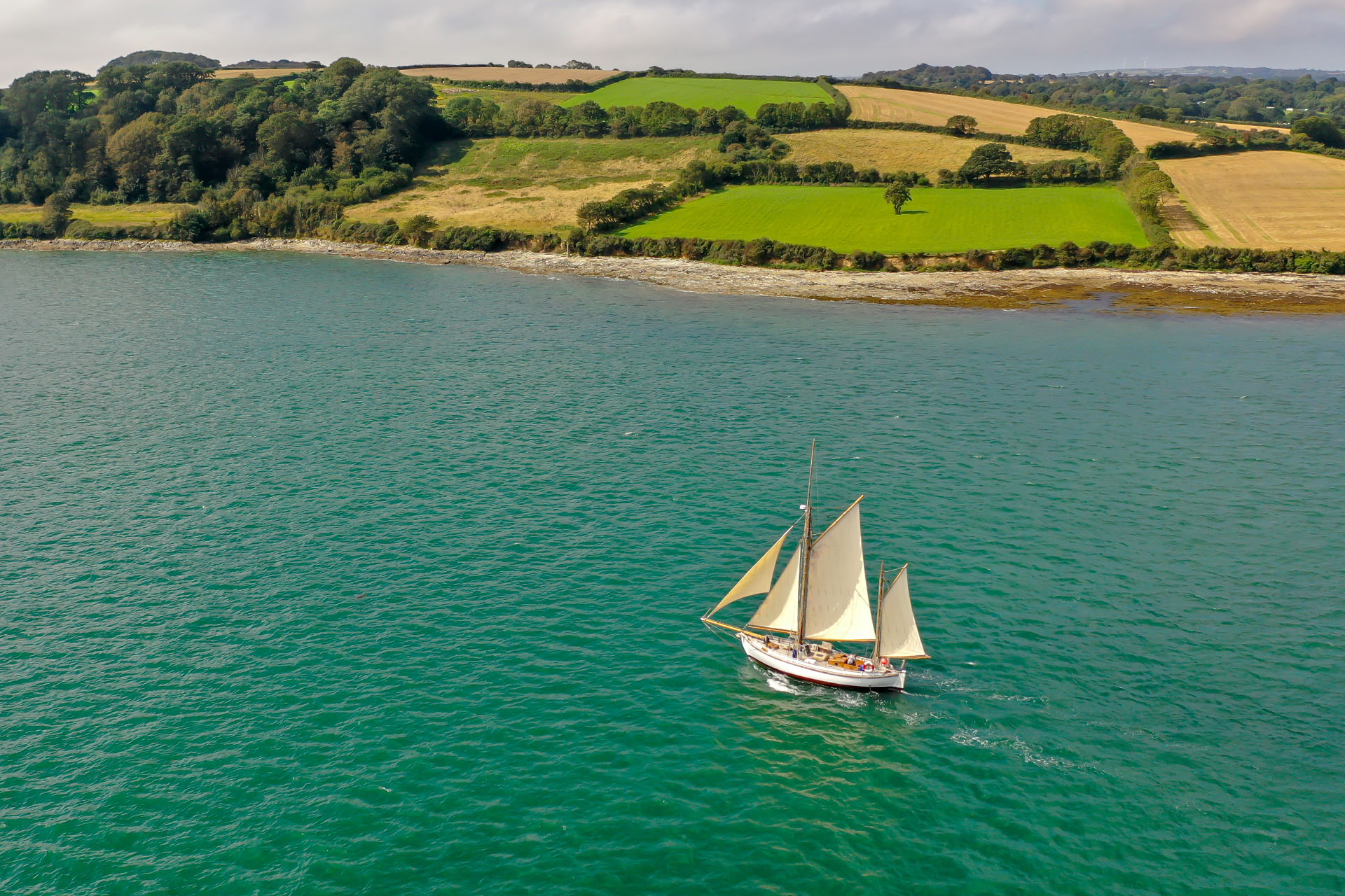 Escape summer sailing