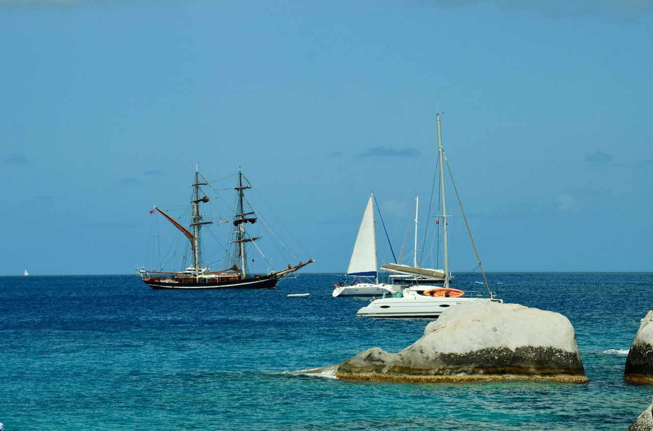 Eye of the Wind in Caribbean