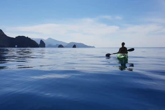 Florette guests kayaking