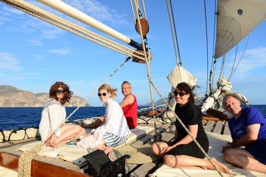 Florette guests sailing