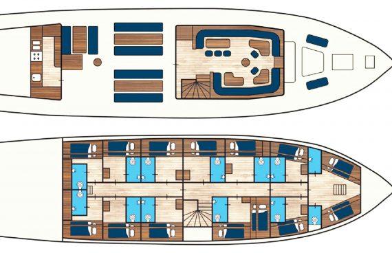 Flying Dutchman deck plan