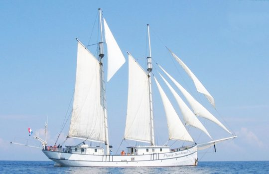 Flying Dutchman full sail