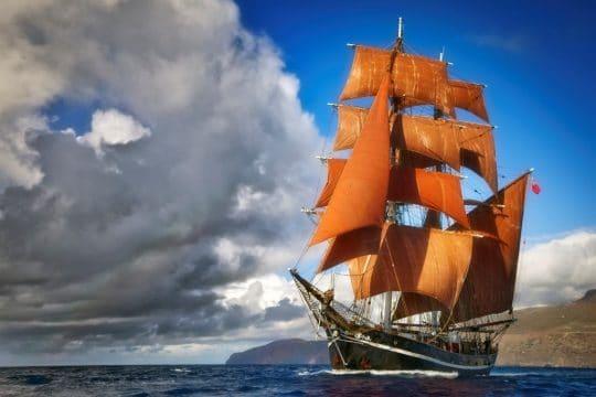 Eye of the Wind Full Sail