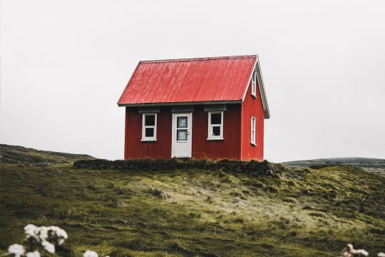 Iceland Red House
