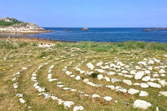 Isles of Scilly ancient maze