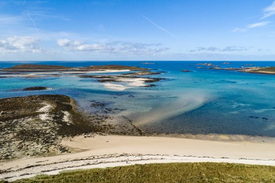 Isles of Scilly golden sands