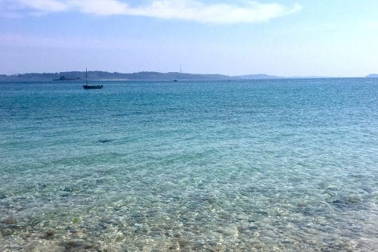 Isles of Scilly tropical waters
