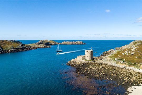 Isles of Scilly Tresco aerial