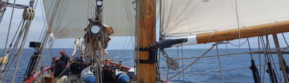 Johanna Lucretia sailing