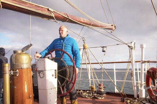 Lady of Avenel guest on the helm