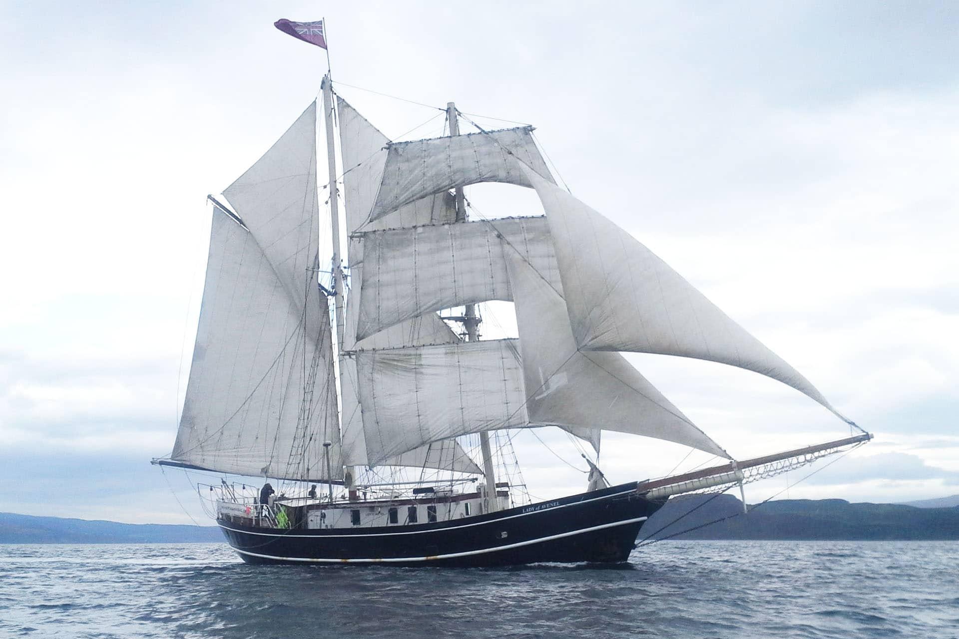 Lady of Avenel scotland sailing
