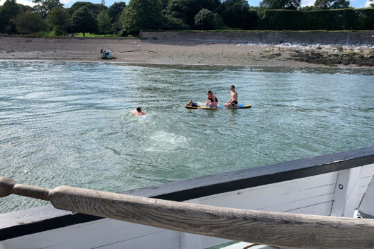 Lyher cothele guests swimming