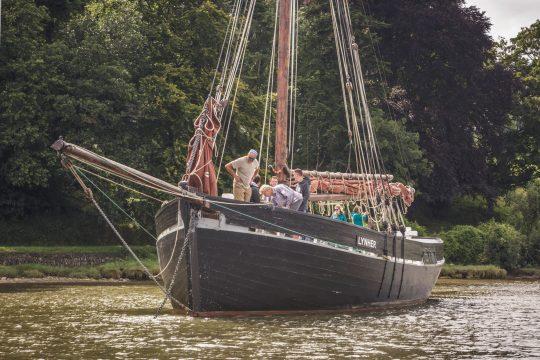 Lynher bow anchor