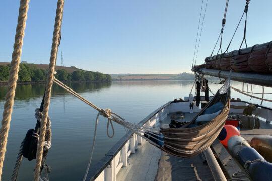 Lynher morning anchor