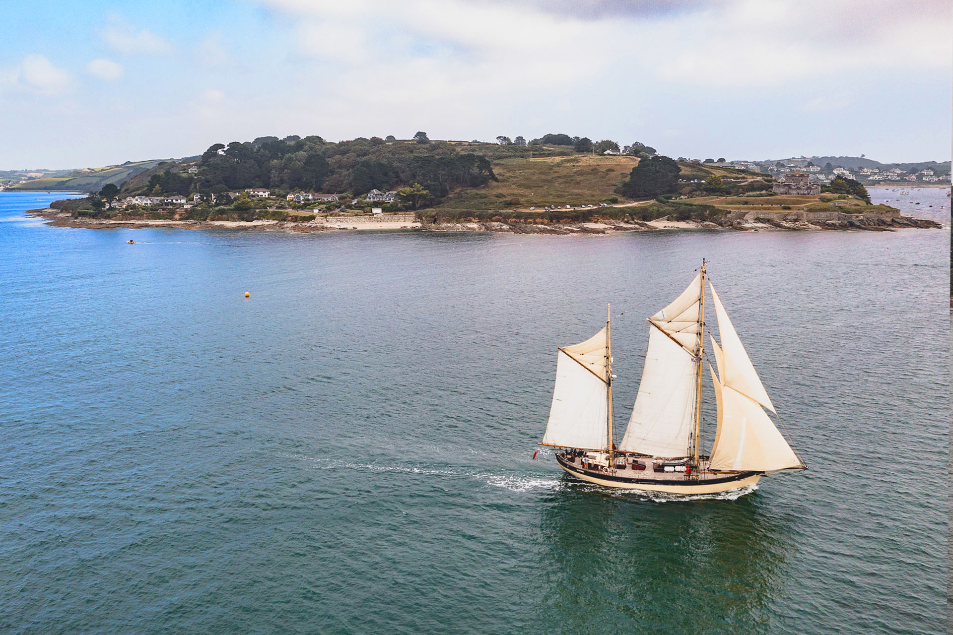 Maybe Sailing off St mawes