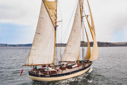 Maybe astern sailing