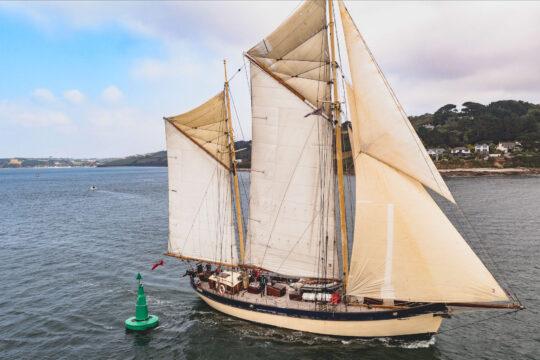 Maybe close up sailing falmouth