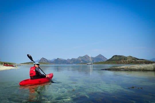 Narwhal Lofotens kayaking