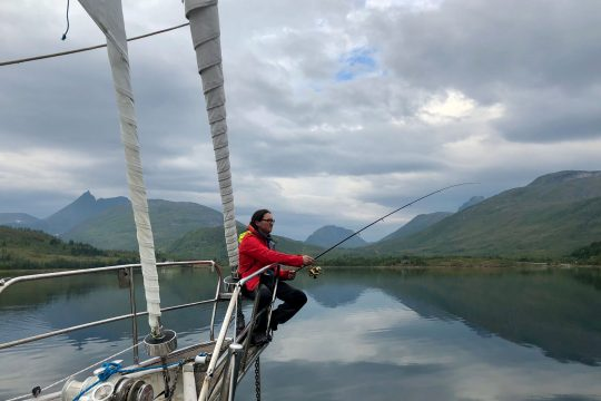Narwhal fishing in Scotland