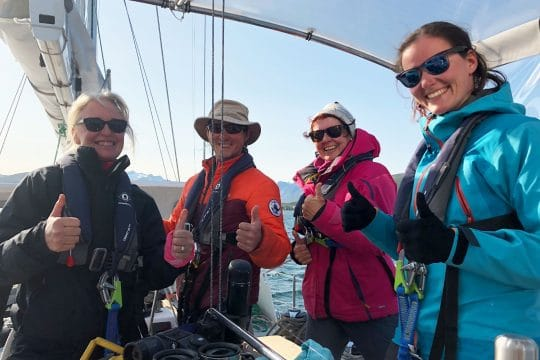 Narwhal guests sailing