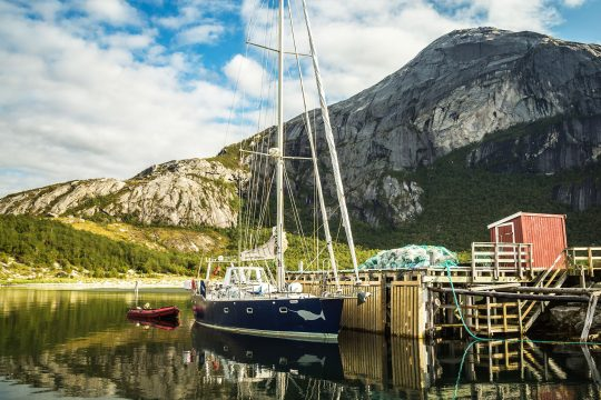 Narwhal moored Norway