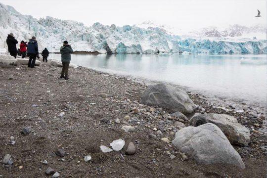 Nooderlicht guests on Svalbard