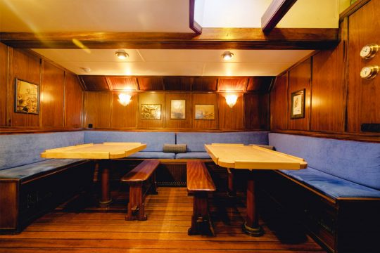 Nooderlicht seating area