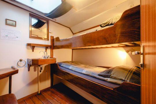 Nooderlicht twin cabin