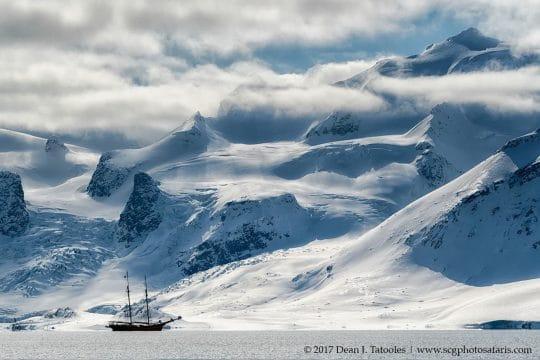 Noorderlicht anchored Norway
