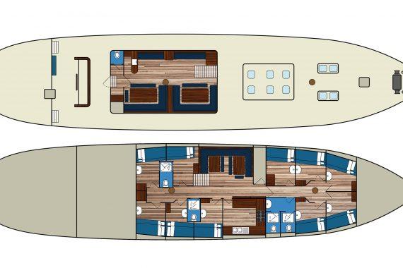 Noorderlicht deck plan