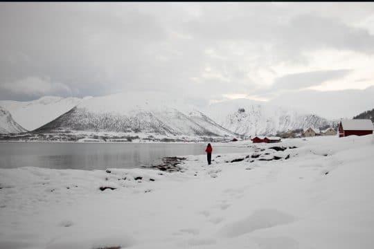 Norway Tromso snow
