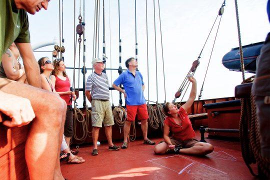 Oosterschelde Guests Sailing