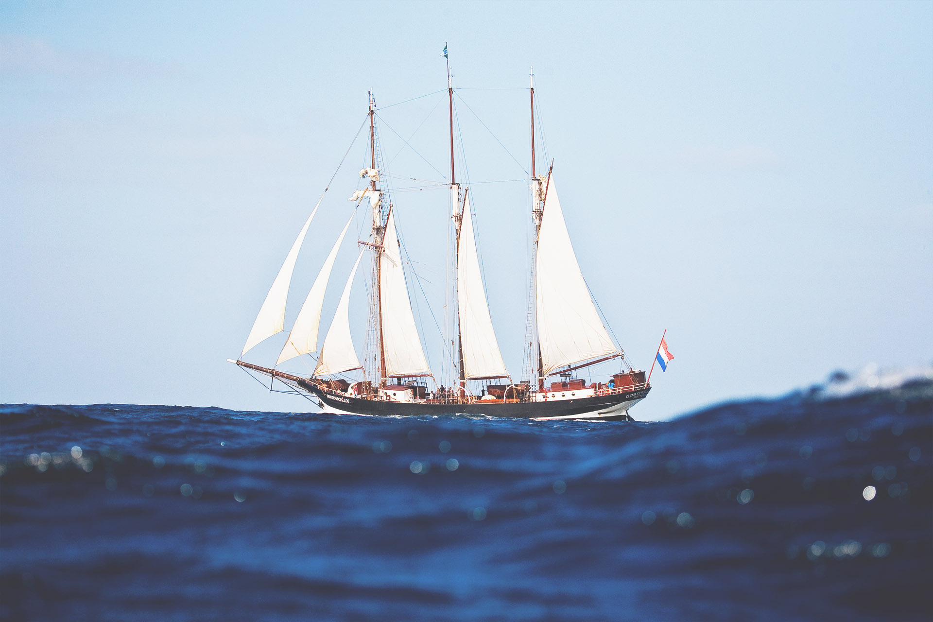 Oosterschelde sea sailing